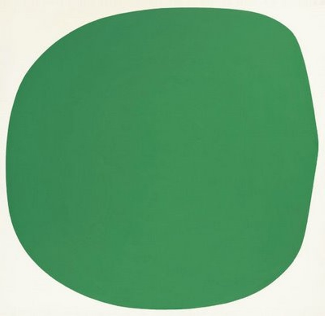 Green-White - Ellsworth Kelly