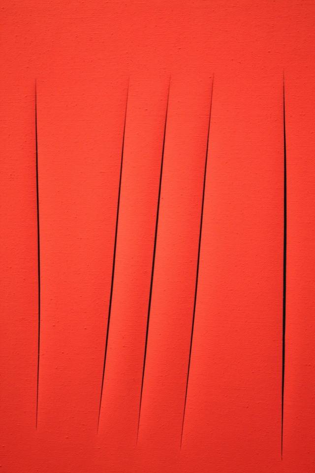 """Spatial Concept"" - Lucio Fontana"