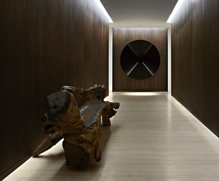 Perfect Entryway design from Yabu Pushelberg