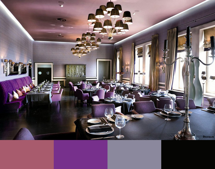 Restaurant Interior Decor Color Schemes