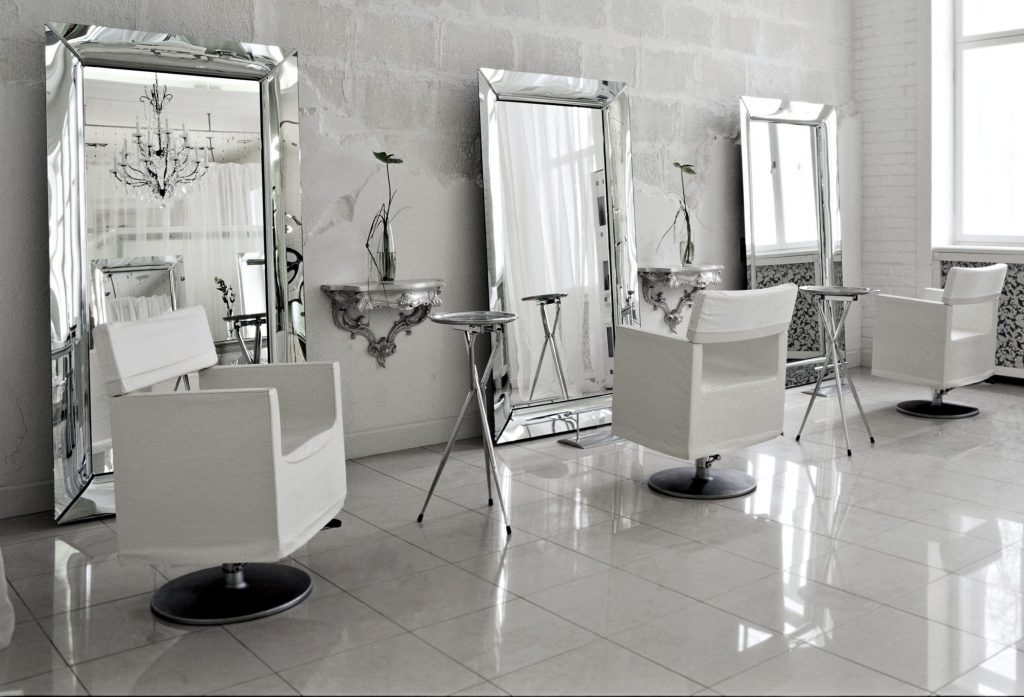 Wall-mounted mirror by Philippe Starck