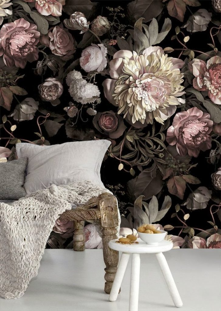 Flower-patterned Sofa