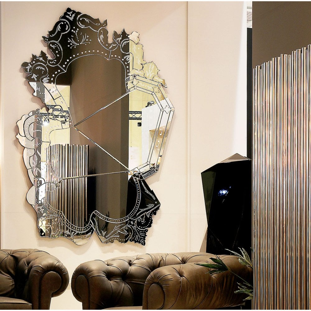 Venice Mirror designed and created by Boca Do Lobo