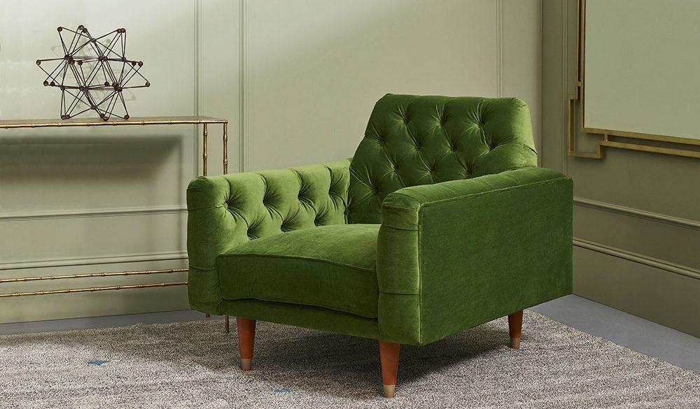 Green Stylish Armchair