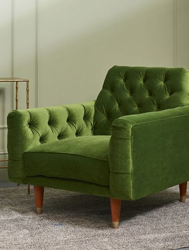 Green Stylish Armchair