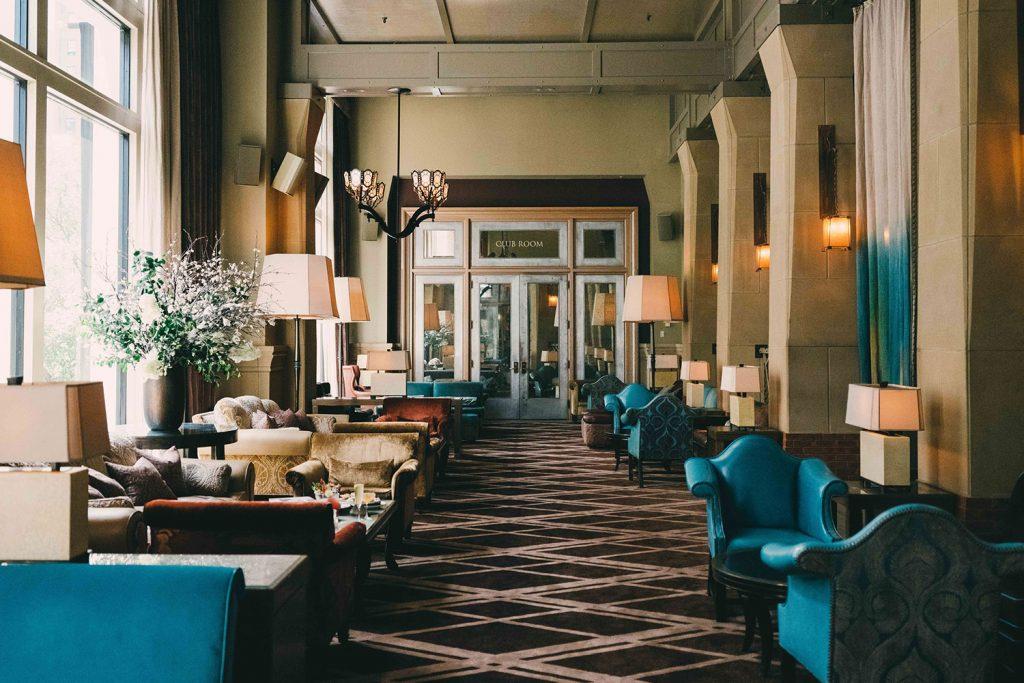 perfect hotel lobby