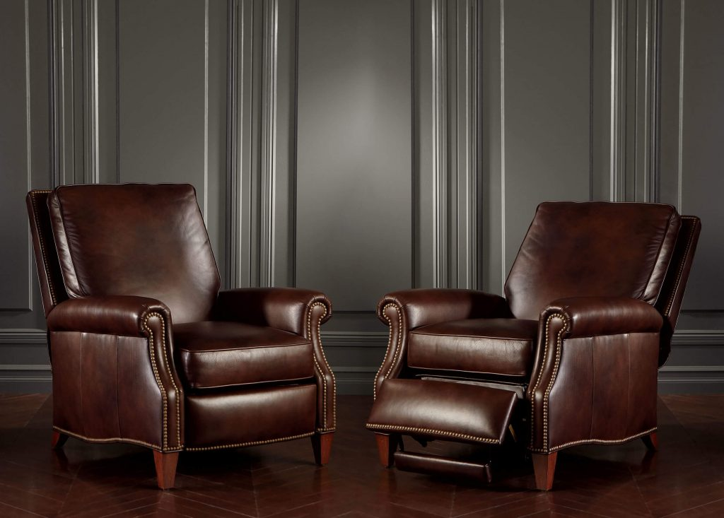Luxury Leather Armchair