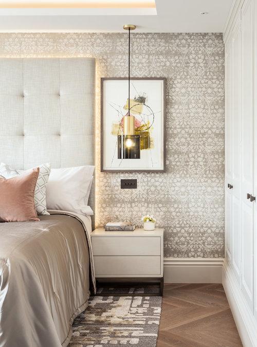 Luxury Bedroom Interior by Jo Hamilton