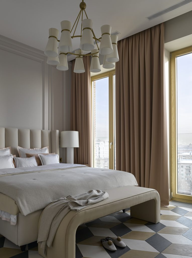 Neutral colours being used well in this bedroom