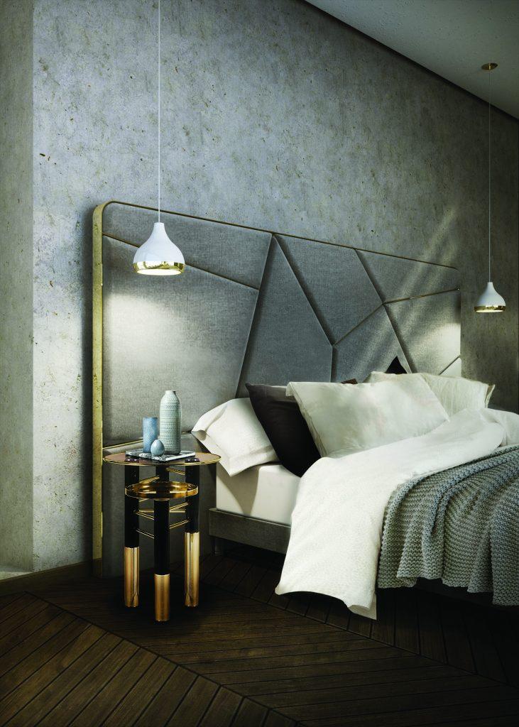 Classy mid-century modern bedroom