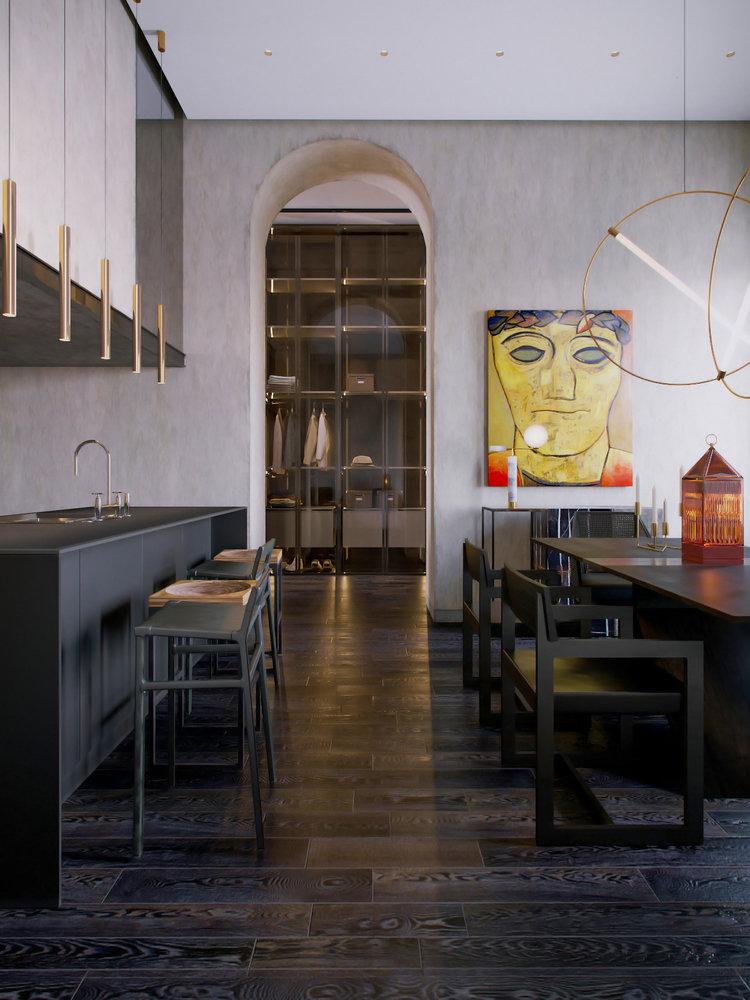 Marat Apartment by Vadim Maltsev