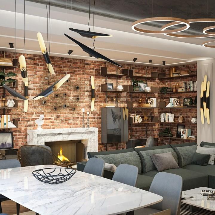 urban modern living room