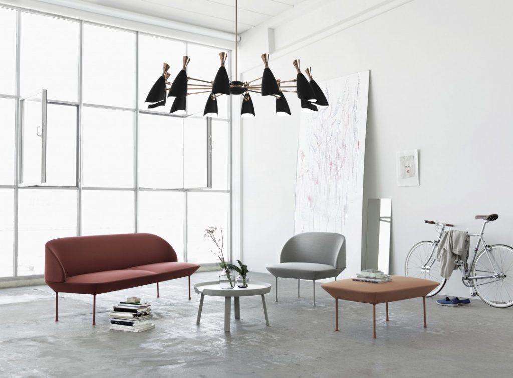 Urban modern bright living room
