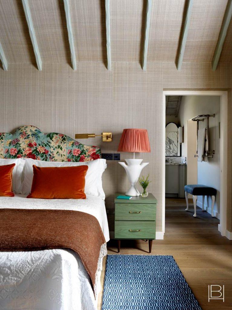 Beata Heuman bedroom